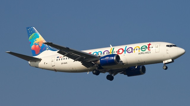 Small Planet Airlines Boeing 737-300