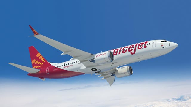 SpiceJet Boeing 737 MAX 8