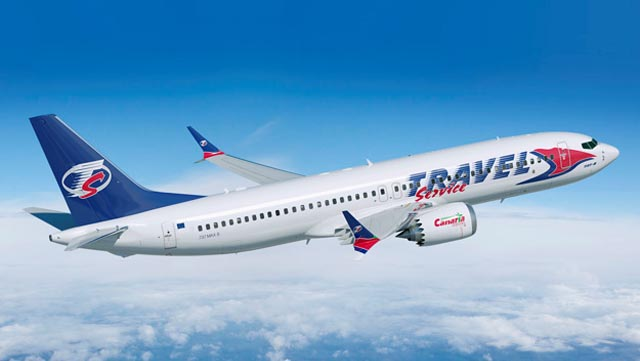 Travel Service Boeing 737 MAX