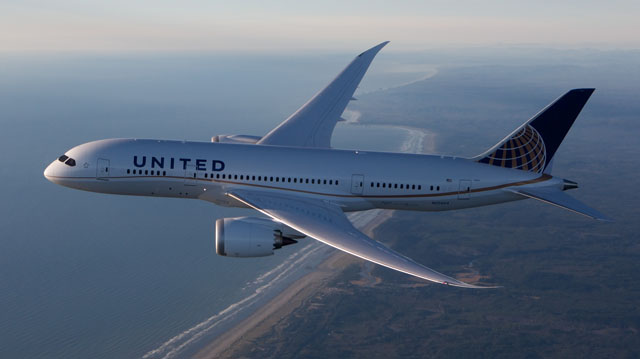United Airlines, Boeing 787-8 Dreamliner