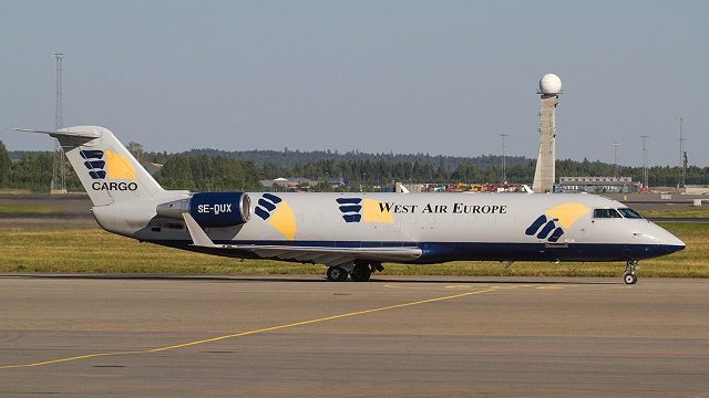 West Air Sweden Canadair CRJ 200