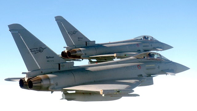 Eurofighter Typhoon (Foto: Italian Air Force)
