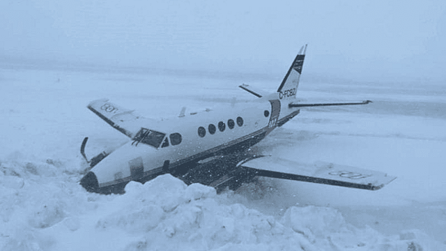Buffalo Air King Air Unfall