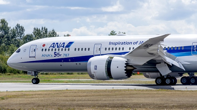 All Nippon Airways fünfzigster Dreamliner