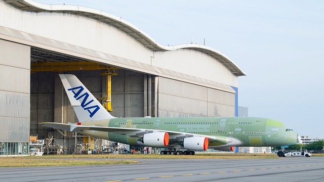ANA Airbus A380 Rollout