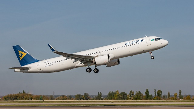 AirAstana_ A321LR Super Arrow - Foto Air Asta
