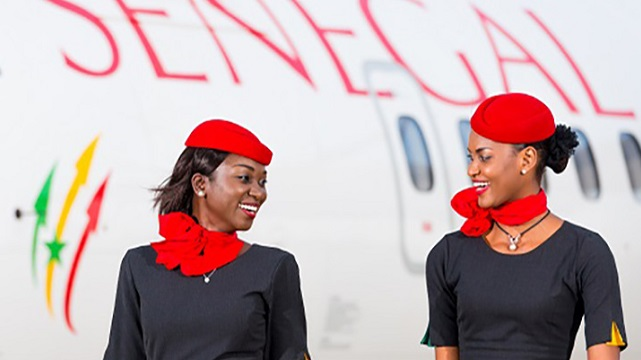 Air Sénégal Flight Attendants