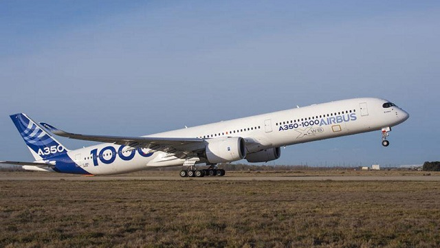 Airbus A350-1000 macht