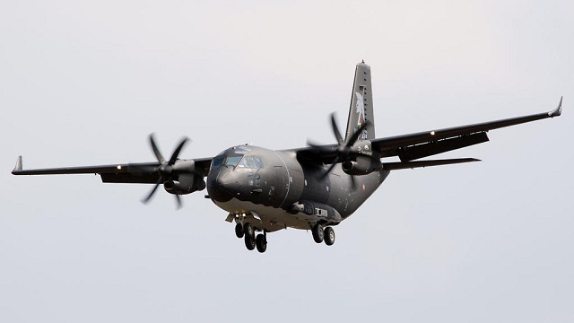C-27J Spartan with Winglets