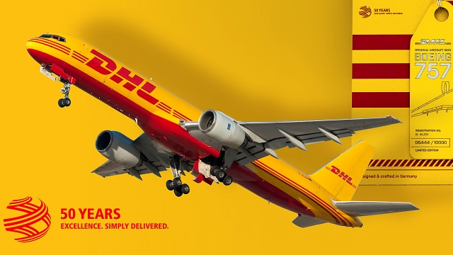 AviationTag B757 DHL