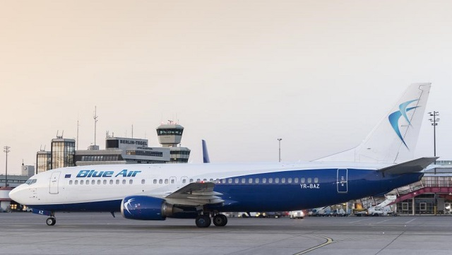 Blue Air Boeing 737 Berlin Tegel