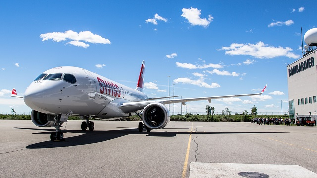 CSeries CS100 Swiss (Foto: Bombardier)