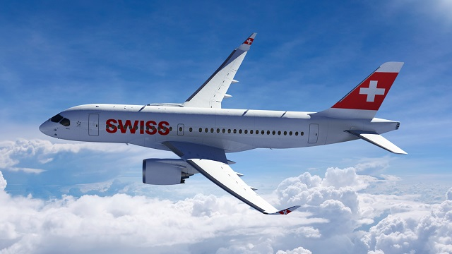 Bombardier CSeries Swiss