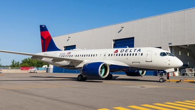 Airbus A220-100 Delta Airlines
