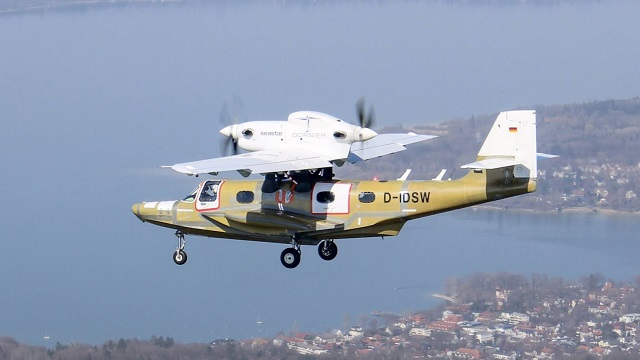 The Dornier Seastar CD2 prototype made its fi