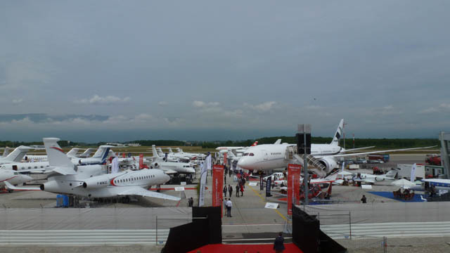 EBACE 2016 Static Display