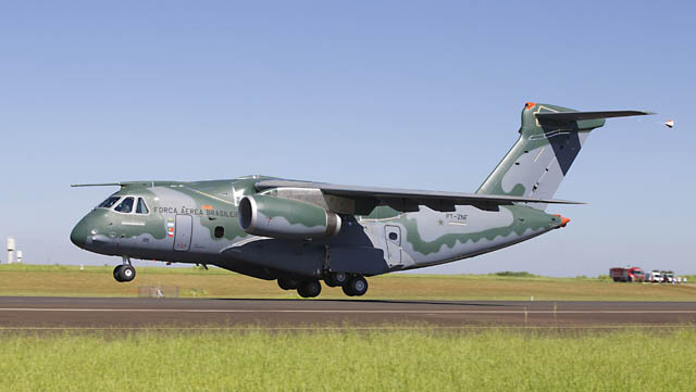 Embraer KC-390 first take off