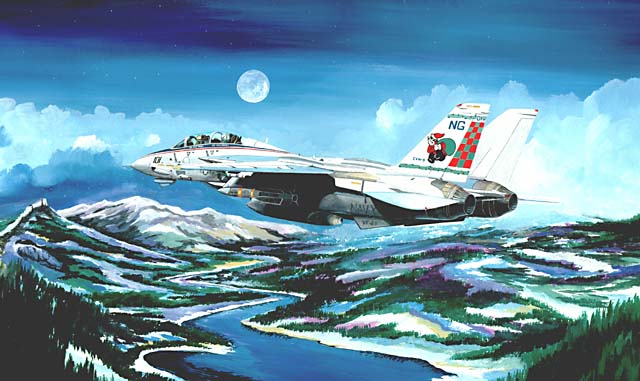 F-14 Tomcat Aviation Art Productions