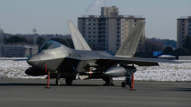 F-22 Raptor in Yokota