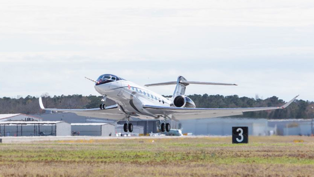 Gulfstream G700 Take Off First Flight