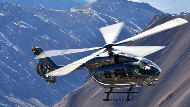 Airbus Helicopters five-bladed H145