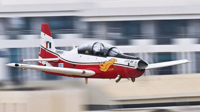 HTT-40 Basic Trainer Aircraft