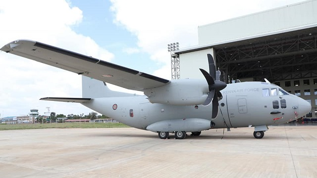 Kenya Air Force C-27J Spartan