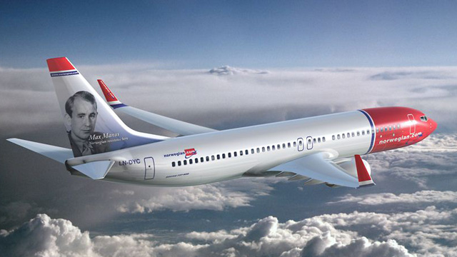 Norwegian Air Shuttle Boeing 737 NG