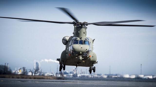 Boeing Mk6 Chinook Royal Air Force