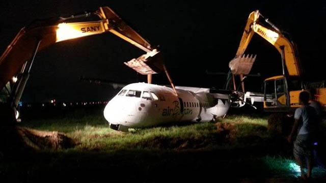 Air Bagan ATR 72 Runway Excursion