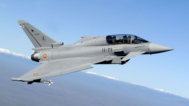 Spanish Air Force Eurofighter